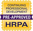 Pre-approved by Human Resources Professionals Association (HRPA)