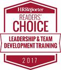 HR Reporter Readers Choice 2017 Leadership & Team Development Training