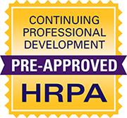 HRPA Pre-Approved